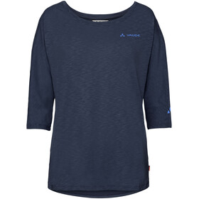 VAUDE Skomer - T-shirt manches longues Femme - bleu